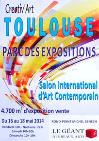"Salon international "" Créativ'Art  TOULOUSE"" 2014"